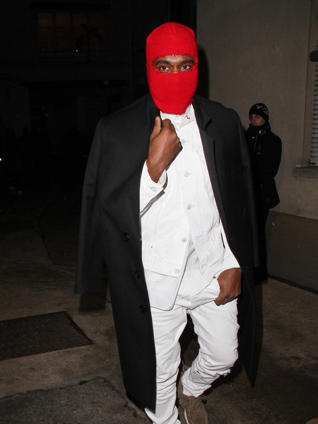 Kanye West Wears Ski Mask to Margiela Paris Fashion Week Show