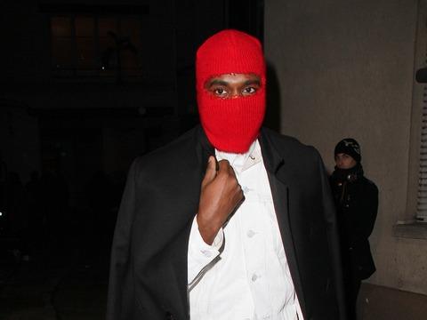 Kanye West Wears Ski Mask to Margiela Paris Fashion Week Show