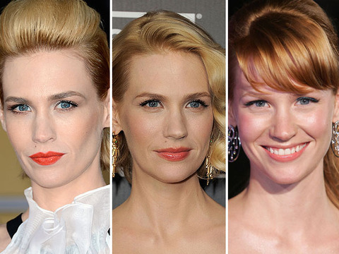 Actress January Jones Says Her Hair is Falling Out