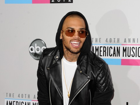 Chris Brown Seen in Hand Cast After Brawl