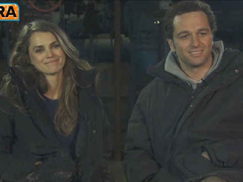 Video! Keri Russell and Matthew Rhys on the Set of 'The Americans'