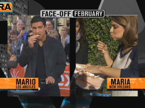 Mario vs. Maria Face-Off: The Beignet Challenge