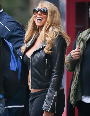 Wardrobe Malfunction: Mariah Carey Suffers Nip Slip