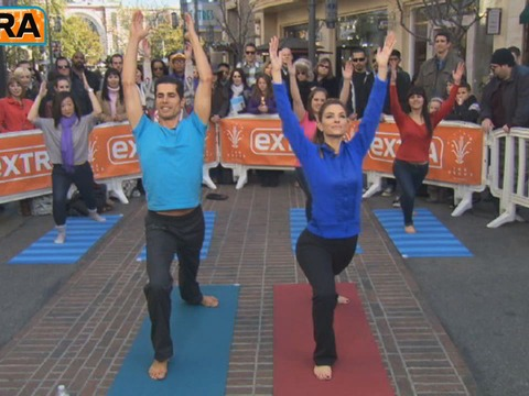 Video! Yoga Lessons with Yogi Cameron