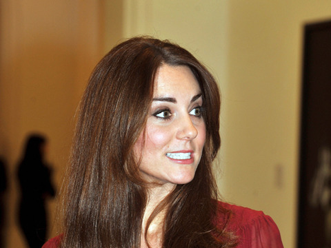 Royal Baby Bump Watch! Kate Middleton Steps Out in London