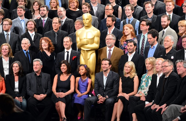 'Extra' Lunchin' with the Oscar Nominees!