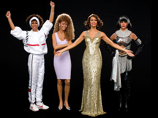 Whitney Houston Wax Figures Unveiled