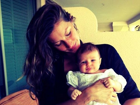 Pic! Meet Gisele Bundchen & Tom Brady's Adorable Baby Girl