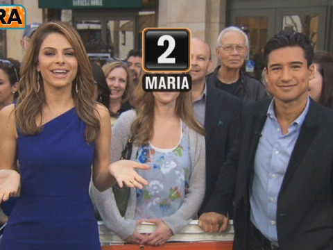 Mario vs. Maria Face-Off: The Blooper Challenge