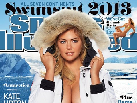 Video! Kate Upton on Her Icy SI Swimsuit Cover Shoot
