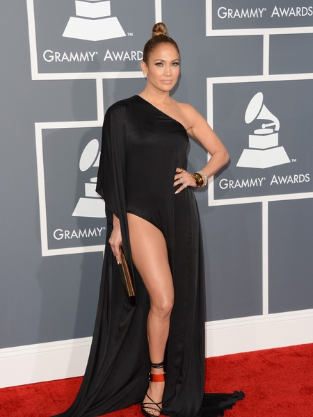 Jennifer Lopez Squeaked Past Grammys Dress Code