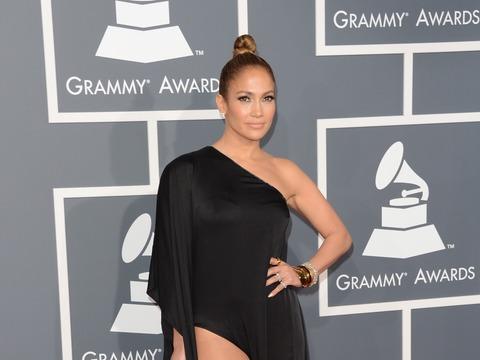 Jennifer Lopez Squeaked Past Grammys Dress Code