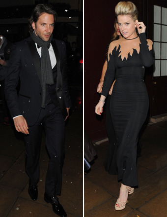 Bradley Cooper and Blonde Beauty Dance the Night Away at BAFTA Party