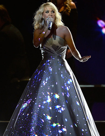 Carrie Underwood on Grammys Performance Dress
