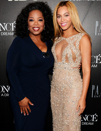 Oprah Joins Beyoncé at Mega-Documentary Premiere