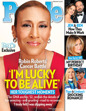 Robin Roberts Opens Up About Her Fight for Life
