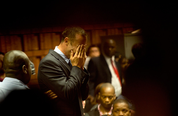 Oscar Pistorius Breaks Down in Court as Prosecution Talks Murder Charges