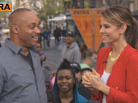 'Extra' Raw! Taking an 'NCIS' Quiz with Rocky Carroll