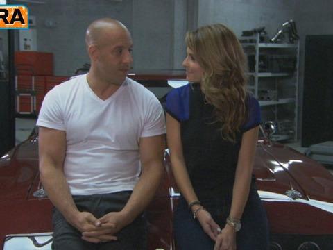 Sneak Peek: On the Set of 'Fast & Furious 6'