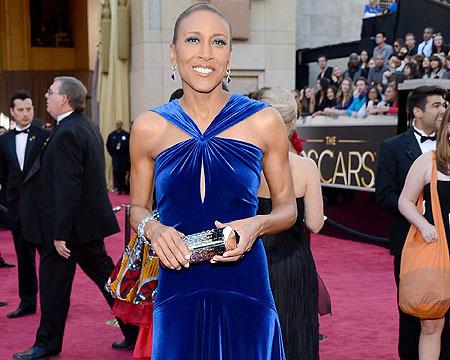 Robin Roberts Shines at the Oscars