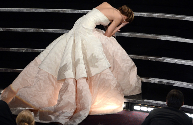 Jennifer Lawrence on Oscars Trip: Hugh Jackman Touched Me!