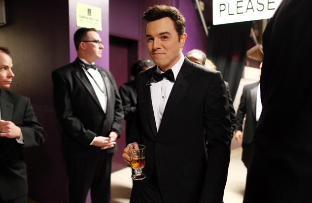 Seth MacFarlane Exclusive! Backstage Reactions from the 2013 Oscar Host