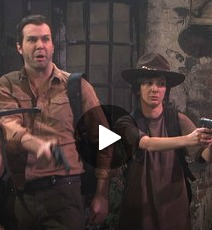 Video! 'SNL' Spoofs 'Walking Dead'