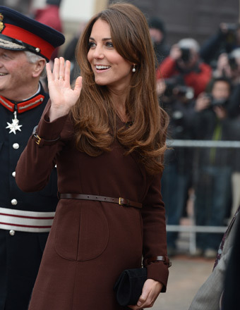 Kate Middleton: 'The Baby is Kicking!'