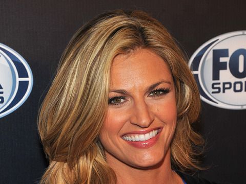 Video! Erin Andrews Reenacts Awkward 50 Cent Kiss
