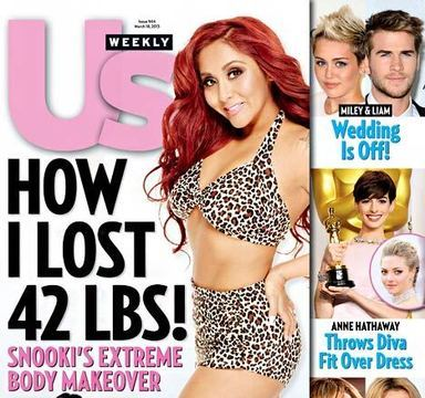 Extra Scoop: Snooki Loses 42 Pounds, Shows Off New Bikini Bod!