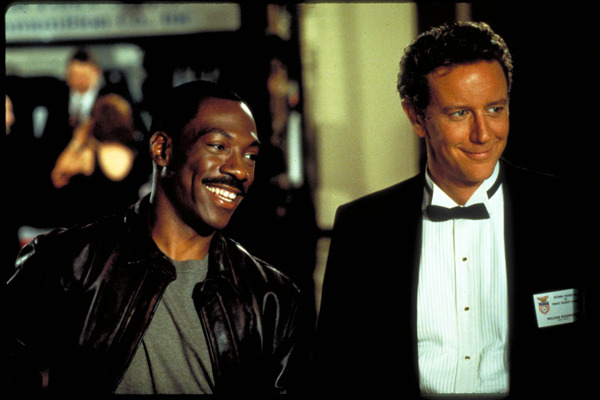 Eddie Murphy and Judge Reinhold Team for 'Beverl