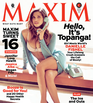 Pics! 'Boy Meets World' Star Danielle Fishel Strips Down for Maxim
