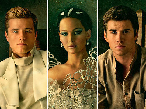 'The Hunger Games: Catching Fire': See the Portraits!