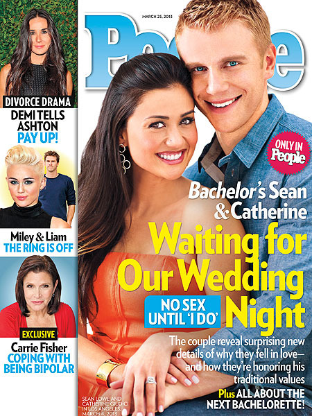 'Bachelor' Couple Sean and Catherine: No Sex Before Marriage
