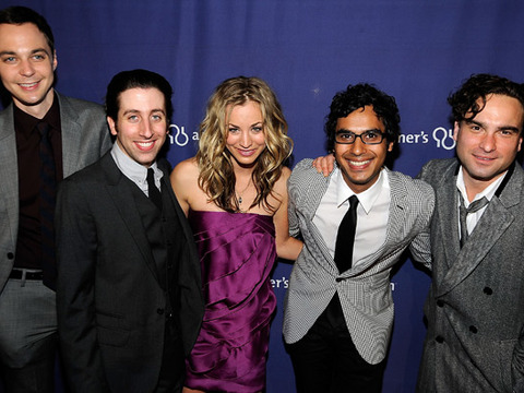 'The Big Bang Theory' Celebrates Meteoric Four Years
