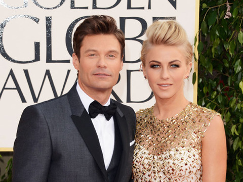 Ryan Seacrest and Julianne Hough Split