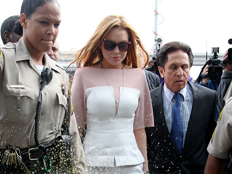Lindsay Lohan Strikes Plea Deal, Gets 90 Days in Locked Rehab, No Jail Time