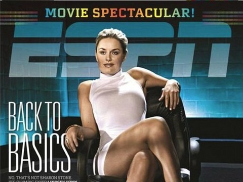 Video! Lindsey Vonn Recreates Sharon Stone's Sexy 'Basic Instinct' Scene