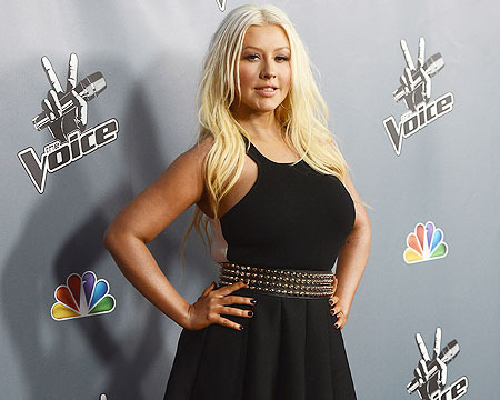 'The Voice' Premiere: Christina Rocks New Bod, Blake Talks Breakup Rumors