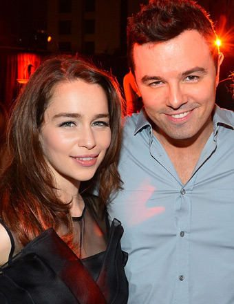 Game Over: Seth MacFarlane and Emilia Clarke Split