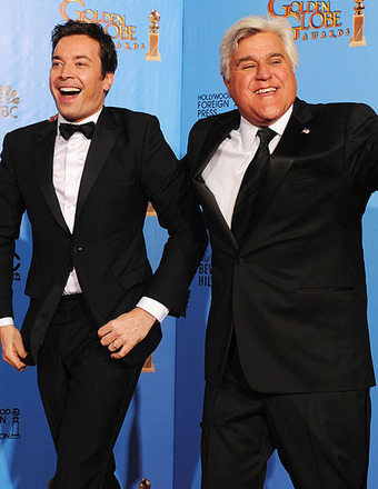 Video! Jay Leno Joins the 'Tonight Show' Rumor Rumpus