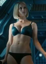 Beam Me Up, Hottie! Alice Eve's Star Fleet Undies in 'Into Darkness' Trailer