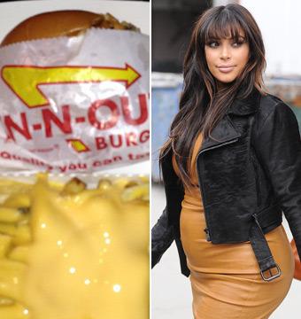 Kim Kardashian's First Pregnancy Craving: In-N-Out Burger!