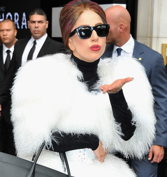 Lady Gaga Celebrates Birthday, Rolls in Louis Vuitton Style