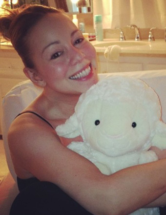 True Beauty: Mariah Carey with No Makeup!