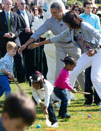 Health Takes Center Stage at White House Easter Egg Roll