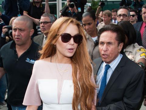 Lindsay Lohan's Wardrobe Malfunction, Adderall Deal
