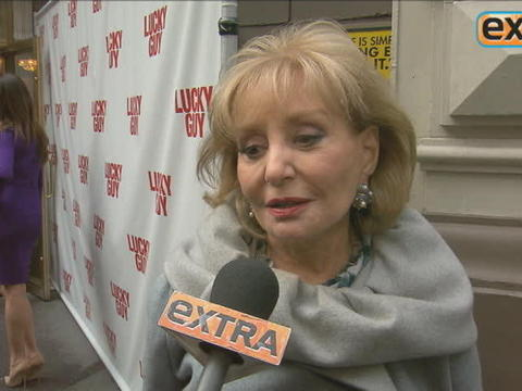 Barbara Walters: 'You're Stuck with Me!'