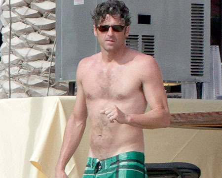 Pics! Patrick Dempsey Shirtless in Cabo