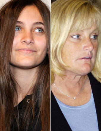 Paris Jackson Reunited with Debbie Rowe